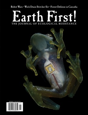 Earth First! Journal Front Cover